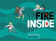 Bad Machinery Vol. 5: The Case of the Fire Inside Cover Image