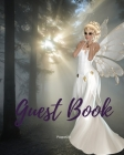 Guest Book - White Fairy Themed for any occasions Cover Image