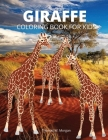 Giraffe Coloring Book for Kids: Children Activity Book for Boys, Girls and Kids Ages 3-8 with Gentle and Cute Giraffes in Zentangle Doodle Patterns - Cover Image