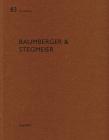 Baumberger & Stegmeier: de Aedibus 83 Cover Image