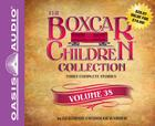 The Boxcar Children Collection Volume 38 (Library Edition): The Ghost in the First Row, The Box that Watch Found, A Horse Named Dragon Cover Image