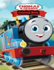 Thomas & friends Coloring Book Cover Image