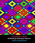 60 Relaxing Arabesque Patterns: Adult Coloring Book Cover Image