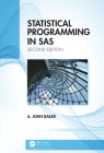 Statistical Programming in SAS Cover Image