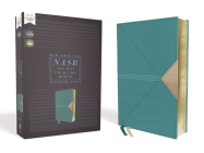 Nasb, Thinline Bible, Leathersoft, Teal, Red Letter Edition, 1995 Text, Comfort Print Cover Image