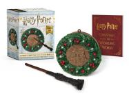Harry Potter: Hogwarts Christmas Wreath and Wand Set: Lights Up! (RP Minis) Cover Image