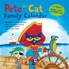 Pete the Cat 17-Month 2019-2020 Family Wall Calendar Cover Image