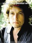 Bob Dylan's Greatest Hits - Complete: P/V/G Folio Cover Image