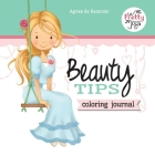 Beauty Tips: Coloring Journal Cover Image
