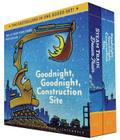 Goodnight, Goodnight, Construction Site and Steam Train, Dream Train Board Books Boxed Set (Board Books for Babies, Preschool Books, Picture Books for Toddlers) Cover Image