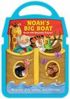 Noah's Big Boat Magnetic Book and Playset Cover Image