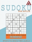 Sudoku For Adults: Mental Revival Sudoku Puzzles For Workplace Cover Image