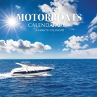 Motor Boats Calendar 2021: 16 Month Calendar Cover Image