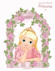 Livro para Colorir de Princesa 4 Cover Image