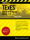 CliffsNotes TExES Math 4-8 (115) and Math 7-12 (235) Cover Image