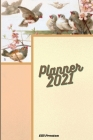 Planner 2021: Awesome Calendar Planner Perfect for Journal, Doodling and Notes Cover Image