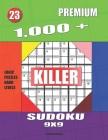 1,000 + Premium sudoku killer 9x9: Logic puzzles hard levels Cover Image