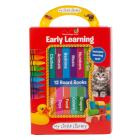 My Little Library: Early Learning - First Words (12 Board Books & Downloadable App!) Cover Image
