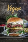 The Earthy Canvas Vegan Cookbook Cover Image