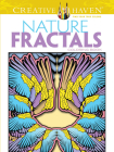 Nature Fractals Coloring Book Cover Image