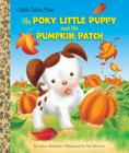 The Poky Little Puppy and the Pumpkin Patch (Little Golden Book) Cover Image