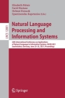 Natural Language Processing and Information Systems: 26th International Conference on Applications of Natural Language to Information Systems, Nldb 20 Cover Image