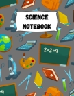 Science Notebook: Large Simple Graph Paper Notebook / Science Notebook / 120 Quad ruled 5x5 pages 8.5 x 11 / Grid Paper Notebook for Sci Cover Image