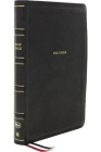 Nkjv, Deluxe Thinline Reference Bible, Leathersoft, Black, Thumb Indexed, Red Letter Edition, Comfort Print: Holy Bible, New King James Version Cover Image