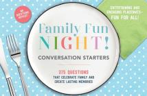 Family Fun Night Conversation Starters Placemats Cover Image