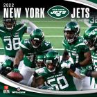 New York Jets 2022 12x12 Team Wall Calendar Cover Image