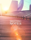 Meeting notes - Meeting Minutes: Secretary Notebook - Logbook Notes Journal -Business Meeting Log - Minute Record and Recap Cover Image