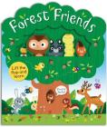 Forest Friends: A lift-and-learn book (Lift-the-Flap Tab Books) Cover Image