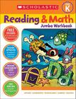 Reading & Math Jumbo Workbook: Grade PreK Cover Image