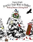 Practice Your Way to Perfect: Birds of Maine Coloring Book Cover Image