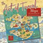 2020 the Art of Travel: Maps of the World's Favorite Cities, Illustrations by Donna Stackhouse 16-Month Wall Calendar: By Sellers Publishing Cover Image