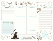 Harry Potter: Weekly Planner Notepad: (Harry Potter School Planner, Harry Potter Gift, Harry Potter Stationery, Undated Planner) Cover Image