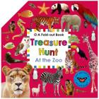 Treasure Hunt: At the Zoo: A Fold-Out Book Cover Image
