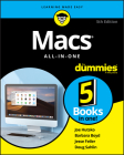 Macs All-In-One for Dummies Cover Image