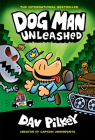 Dog Man Unleashed: From the Creator of Captain Underpants (Dog Man #2) (Library Edition) Cover Image