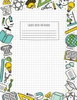 Back to School Graph Paper Notebook: (Large, 8.5x11) 100 Pages, 4 Squares per Inch, Math and Science Graph Paper Composition Notebook for Students Cover Image