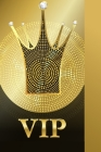 VIP: Address Book for Men, Women With Alphabet Index (Small Tabbed Address Book). Cover Image