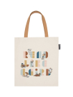 Read Like a Girl Tote Bag Cover Image