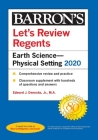 Let's Review Regents: Earth Science--Physical Setting 2020 (Barron's Regents NY) Cover Image