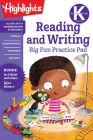 Kindergarten Reading and Writing Big Fun Practice Pad (Highlights Big Fun Practice Pads) Cover Image