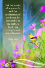 Words of My Mouth Bulletin (Pkg 100) General Worship Cover Image