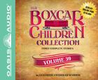 The Boxcar Children Collection Volume 39 (Library Edition): The Great Detective Race, The Ghost at the Drive-In Movie, The Mystery of the Traveling Tomatoes Cover Image