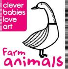 Farm Animals (Clever Babies Love Art) Cover Image