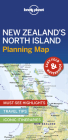 Lonely Planet New Zealand''s North Island Planning Map (Planning Maps) Cover Image