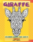 Baby Animal Coloring Books for Adults - Animals - Giraffe Cover Image