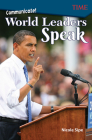 Communicate!: World Leaders Speak (Exploring Reading) Cover Image